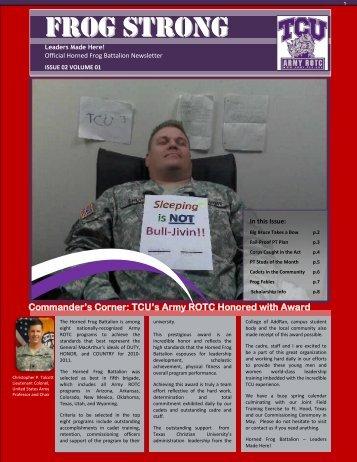 Spring 2012 - Army ROTC