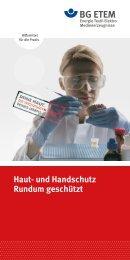 Haut- und Handschutz - Rundum geschützt