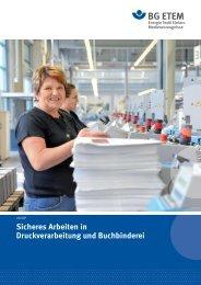 Arbeitssicherheit Gesundheitsschutz in der Weiterverarbeitung und ...