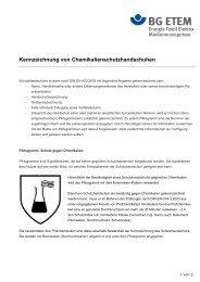 Kennzeichnung von CSH