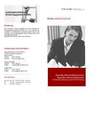 Geprüfte/r Wirtschaftsfachwirt/in - Bildungszentrum Gifhorn