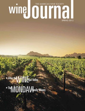 American Wine Society Journal Spring 2012 (.pdf 3.5MB)