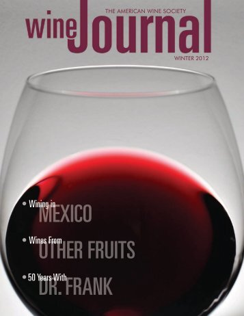American Wine Society Journal Winter 2012-13 - East Las Vegas ...
