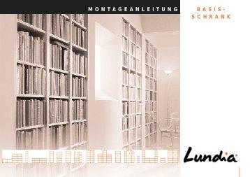 Monatgeanleitung Basisschrank pdf - Lundia
