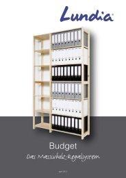 Preisliste Lundia-Budget