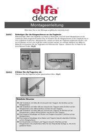 Montageanleitung - Lundia