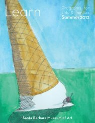 Summer 2012 - Santa Barbara Museum of Art