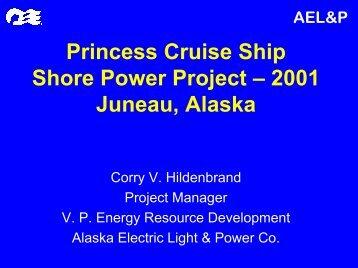 Juneau ShoreSide Power Project