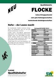 FLOCKE - SW Seed GmbH