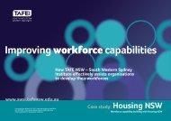 Improvingworkforcecapabilities - South Western Sydney Institute ...