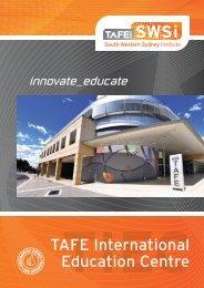 TIEC Brochure - South Western Sydney Institute - TAFE NSW