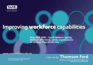 Thomson Ford - South Western Sydney Institute - TAFE NSW