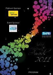program - South Western Sydney Institute - TAFE NSW