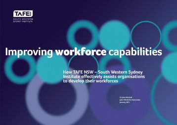 Improving Workforce Capabilities - South Western Sydney Institute ...