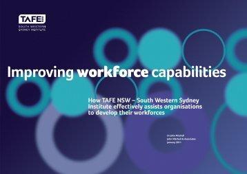 Improving Workforce Capabilities - South Western Sydney Institute ...
