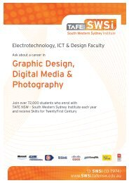 Graphic Design, Digital Media & Photography - South Western ...