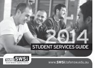 SWSi Student Services Guide - South Western Sydney Institute ...