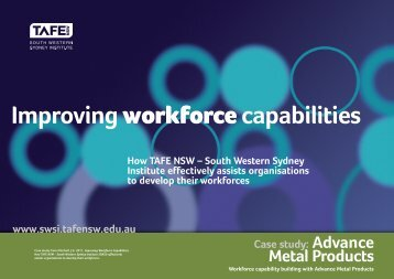 Case Study - Advance Metal Products - South Western Sydney ...