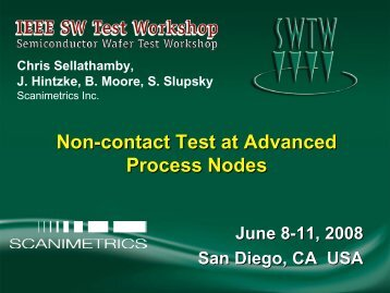 Non-contact Test at Advanced Process Nodes - Semiconductor ...
