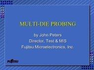MULTI-DIE PROBING