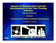 Impact of Globalization and the Development of the Test Tooling ...