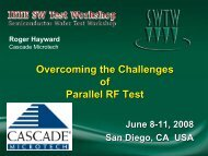 Overcoming the Challenges of Parallel RF Test - Semiconductor ...