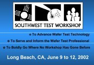 SWTW-2002 - Semiconductor Wafer Test Workshop
