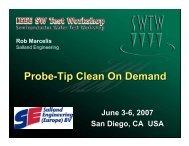 Probe-Tip Clean On Demand
