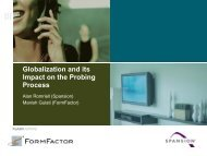 Globalization and its Impact on the Probing Process