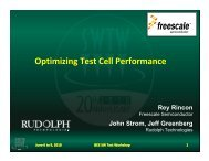 Optimizing Test Cell Performance Using Probing Process Analysis ...