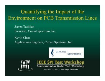 Quantifying the Impact of the Environment on PCB Transmission Lines