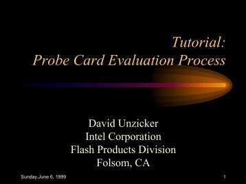 What is probe card? What does probe card mean? Probe card meaning.