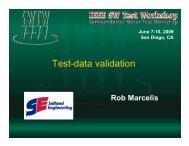 Test-data validation - Semiconductor Wafer Test Workshop