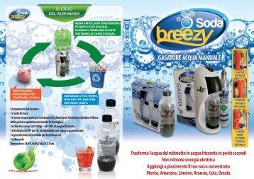 Soda Breezy - Gasatore Acqua Manuale