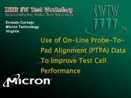 Title Slide - Semiconductor Wafer Test Workshop
