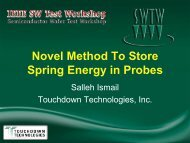 Novel Method to Store Spring Energy in Probes - Semiconductor ...
