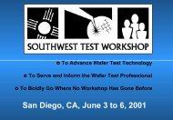 SWTW-2001 - Semiconductor Wafer Test Workshop
