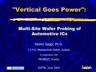 Vertical Probing Goes Power