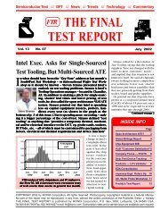 July, 2002 Issue - Semiconductor Wafer Test Workshop