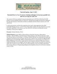 Tutorial - Semiconductor Wafer Test Workshop
