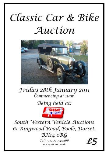 Vintage Vehicle Auction 75