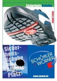 SicherheitsSchuhe - SWWEB.de