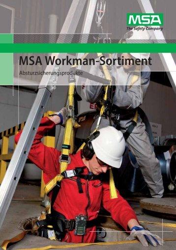 MSA Workman-Sortiment - SWWEB.de