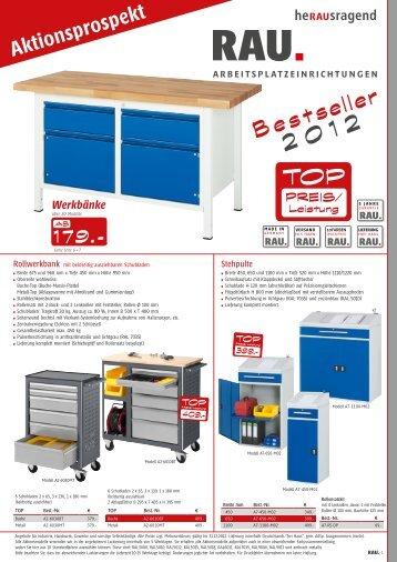 Bestseller 2012 - Rau GmbH