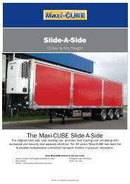 Slide-A-Side - SX Trailers