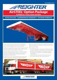 Air-STEEL - SX Trailers