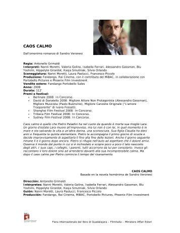 CAOS CALMO - Ministero degli Affari Esteri