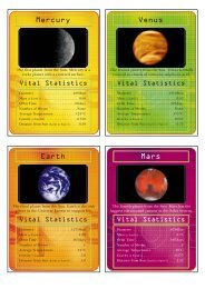 space card - National STEM Centre