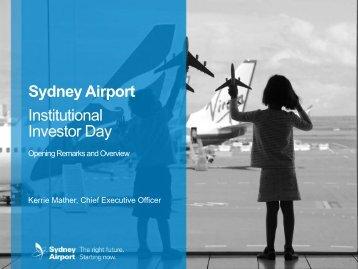 Institutional Investor Day Presentation - Sydney Airport