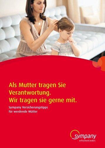 Sympany Versicherungstipps für werdende Mütter